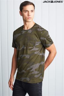 Jack & Jones Short Sleeve Camo Tee