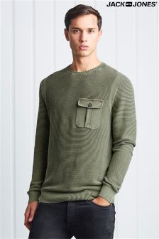 Jack & Jones Crew Neck Knit Top