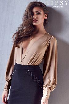 Lipsy Plunge Bodysuit