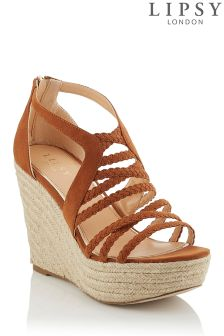 Lipsy Plaited Espadrille Wedges