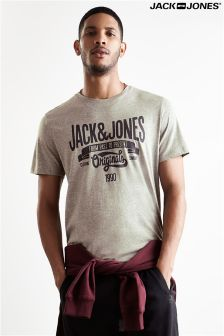Jack & Jones Logo Print Tee