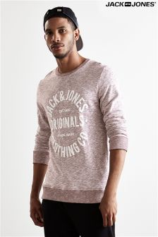 Jack & Jones Logo Print Sweater