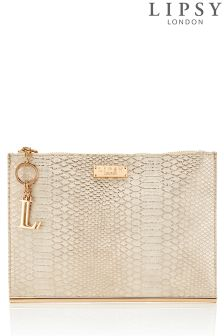 Lipsy Reptile Bar Clutch Bag