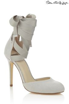 Miss Selfridge Ballet Wrap Court Heels