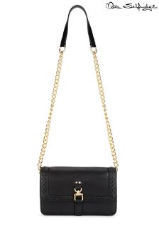 Miss Selfridge Chain Box Bag