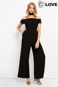 Love Cold Shoulder Jumpsuit
