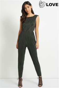 Love Pleated Jumpsuit