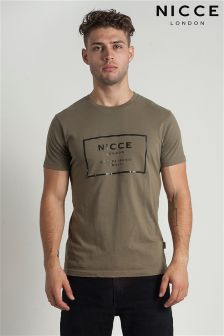 Nicce Raised Print T-shirt