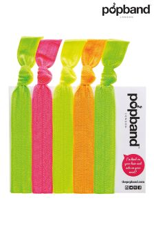 Popbands Glo 5 Hair Band Set