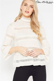 Miss Selfridge Pintuck Blouse