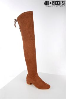 4th & Reckless Over The Knee Faux Suede Boots