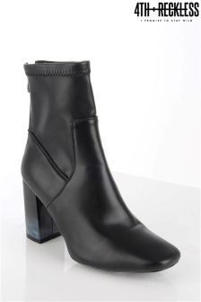 4th & Reckless Smoke Heel Ankle Boot