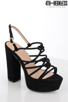 4th & Reckless Caged Platfrom Heels