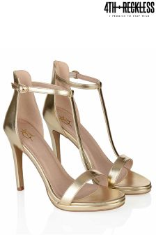 4th & Reckless T-bar Stiletto Heel