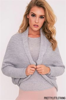 Pretty Little Thing Drape Cardigan