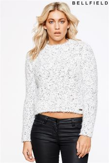 Bellfield Knitted Crop Jumper