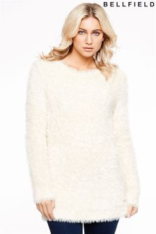 Bellfield Longline Knitted Jumper