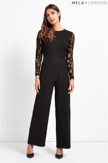 Mela Loves London Lace Jumpsuit