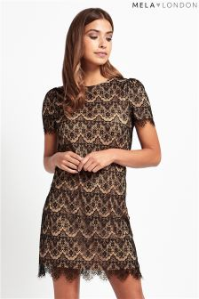 Mela Loves London Lace Detailed Dress