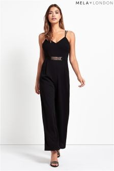 Mela Loves London Belted Jumpsuit