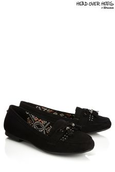 Head Over Heels Flat Tassel Loafers