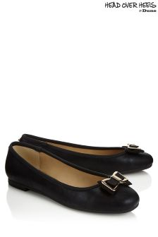 Head Over Heels Flat Ballerina Pumps