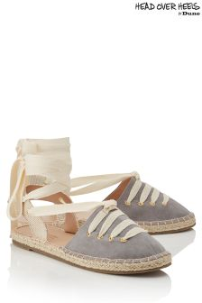 Head Over Heels Tie Up Espadrilles