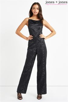 Jones + Jones Glitter Jumpsuit