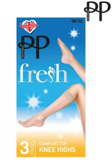 Pretty Polly Comfort Knee Highs