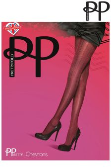 Pretty Polly Chevron Tights