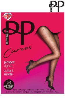Pretty Polly Pin Dot Curve Tights