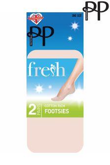 Pretty Polly Cotton Footsies