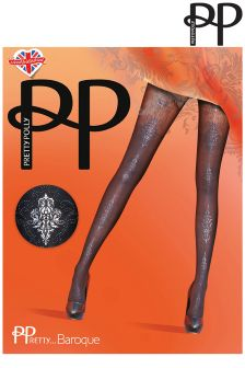 Pretty Polly Baroque Fashion Tights