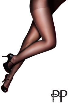 Pretty Polly Curve 3 Pack 15 Denier Ladder Resist Tights