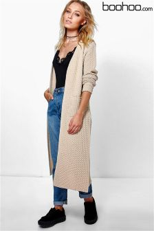 Boohoo Side Split Midi Cardigan