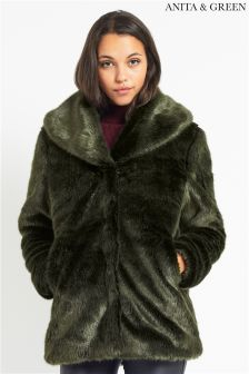 Anita & Green Faux Fur Jacket