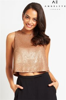 Angeleye Sequin Top