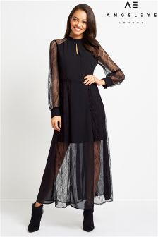 Angeleye Lace Maxi Dress
