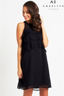 Angeleye Ruffle Mini Dress