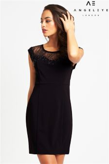 Angeleye Lace Midi Dress