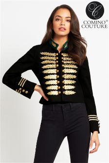 Comino Couture Military Jacket