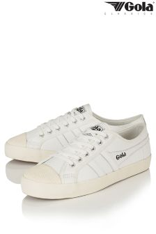 Gola Womens Leather Trainers