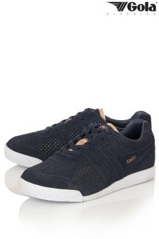 Gola Womens Glimmer Suede Trainers