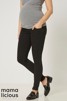Maternity Black Jeans | Maternity Black Denim Jeans | Next UK