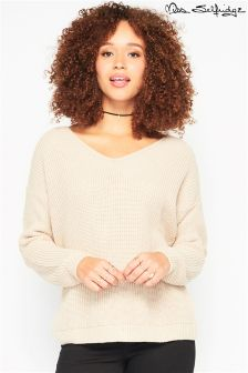 Miss Selfridge Lattice Back Jumper