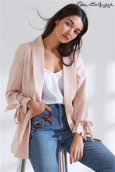 Miss Selfridge Bow Sleeve Blazer