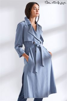 Miss Selfridge Long Trench Mac