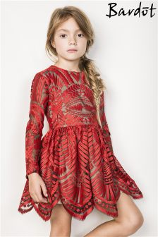 Bardot Junior Embroidered Mesh Dress