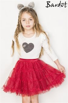 Bardot Junior Tiered Glitter Tutu Skirt