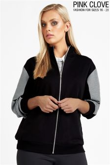 Pink Clove High Neck Jacket